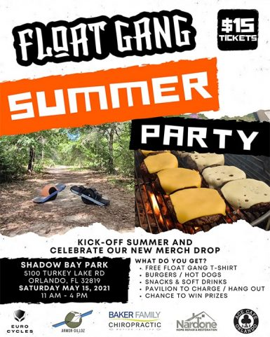 float-gang-summer-event-flyer